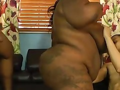 Big-Titted fat Mz Diva takes onto couple pocket rockets